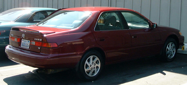 1997 toyota camry v6 le audiophile sound new tires. Black Bedroom Furniture Sets. Home Design Ideas